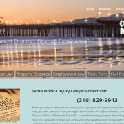 Personal injury lawyer Santa Monica