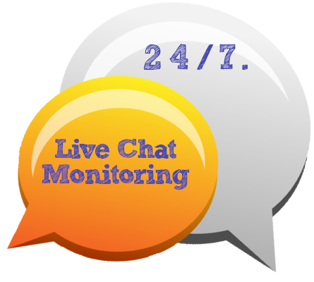 Live chat 247 bubble
